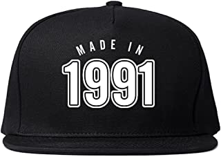 Made in 1991 and Kicking Ass Ever Since Year Snapback Hat Cap