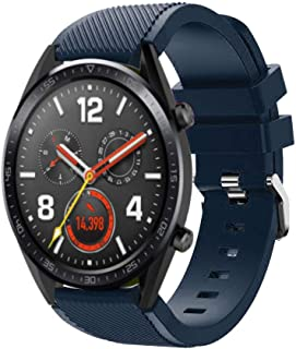 97c1049117cad9 Ecosin New Replacement Silicone Watch Band Wrist Strap for Huawei Watch GT Smart  Watch 22mm Gift