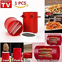 Jiffy Fries Potato Slitter, microwave French Fries toaster, French Fries maker