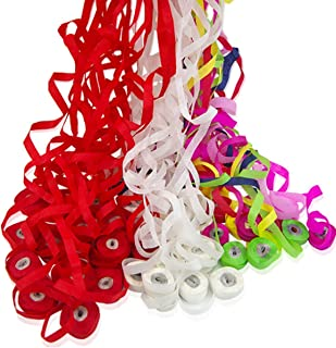 WSNMING 12 Pack Throw Streamers Spider Thread Magic Tricks Props Mentalism Illusion Throw Confetti for Magic Stage Show Party Birthday Wedding (White)