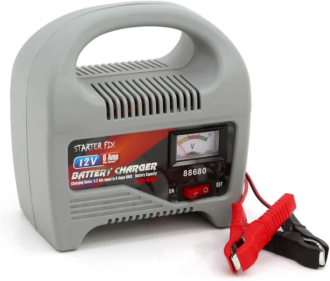 Batterie Ladegerät Von Starter Fix Ladestation Für Ihre Leeren Autobatterien Mit Einer Spannung Von 12v 6 Amp Auto