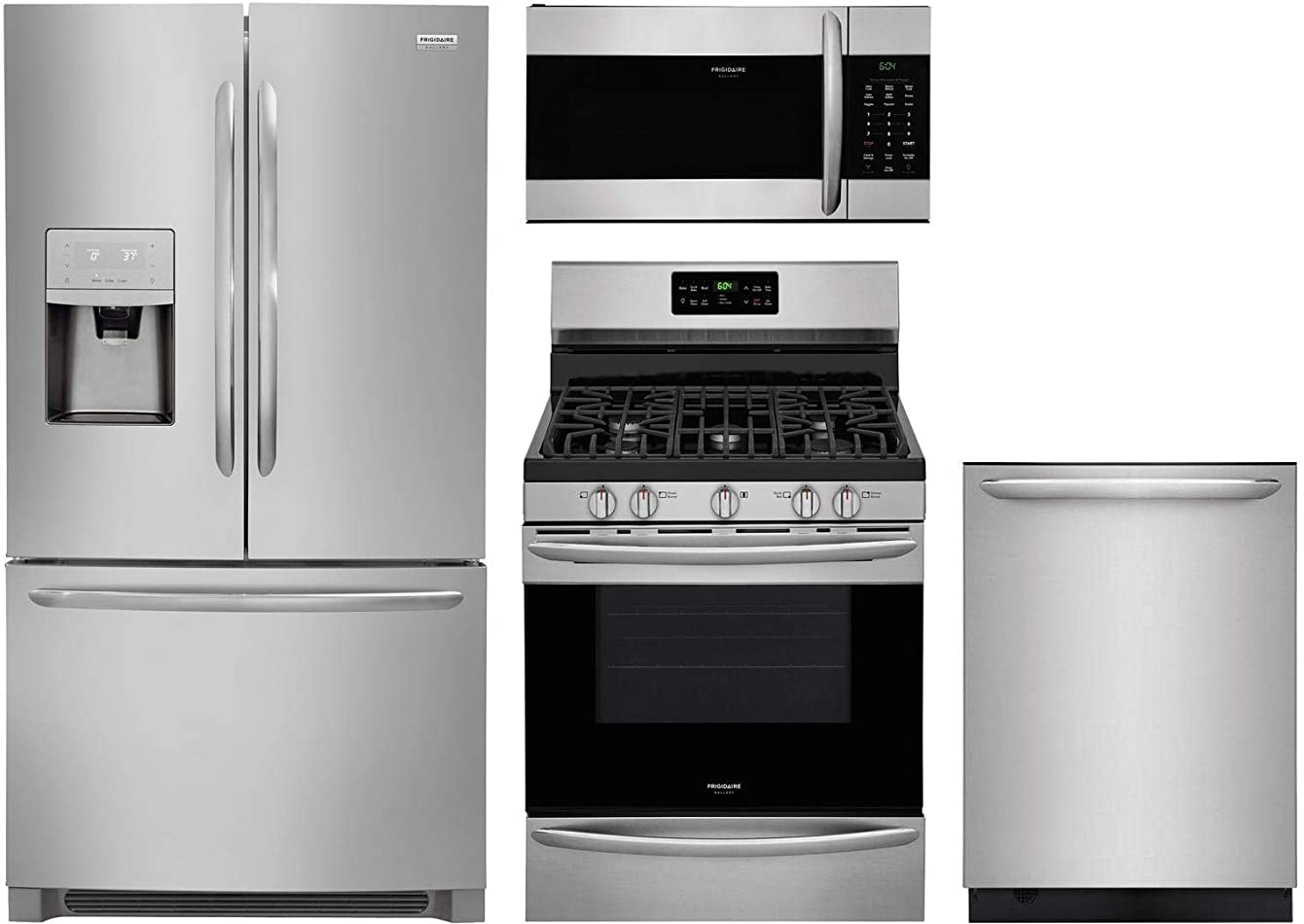 Frigidaire 4 Piece Kitchen Appliance Package with FGHB2868TF 36