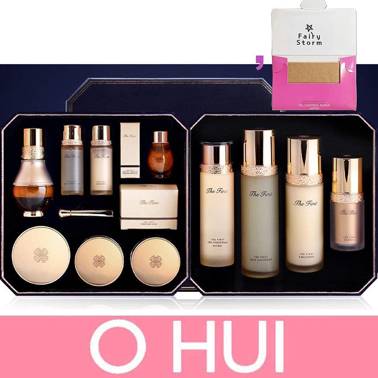 動詞にんじん硫黄[オフィス/ O HUI] OHUI The First GENITURE Set / Skincare Full Set / オフィスよりファーストパース - ジSkincare Set + [Sample Gift](海外直送品)