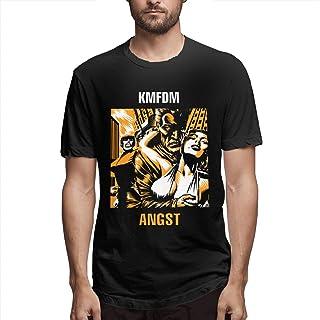 ZeldaRRay KMFDM T Shirt Men's O Neck Short Sleeve Fashion Casual Tees