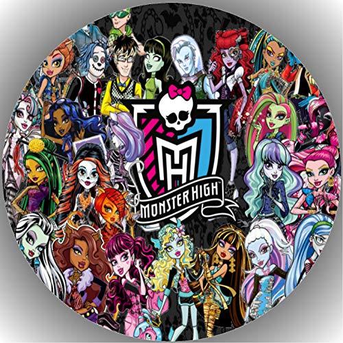 Fondant Tortenaufleger Tortenbild Geburtstag Monster High T15