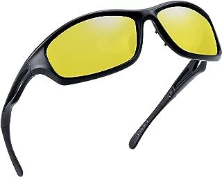 yellow sports sunglasses