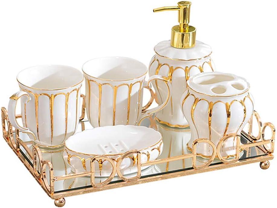 Tucson Mall Aohi WXQ-XQ Razor Holder Bathroom Brus Set Tray Choice 6-Piece Ceramic