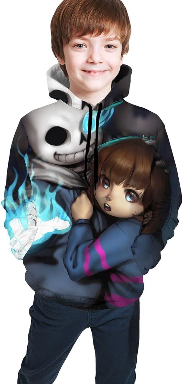 Undertale Sans Teens 3d Printed Pullover Hoodie Boys And Girls Sweatshirt Sweaters