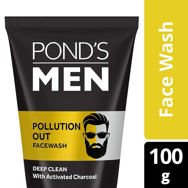 反発シェーバー破産Pond's Men Pollution Out Face Wash, Feel Fresh 100gm
