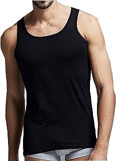 Pack of 6 Mens 100% Cotton Summer Weight Singlet Vests Underwear