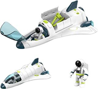 DACRIS Spacecraft Airplane Playset Toys for Kids, with...