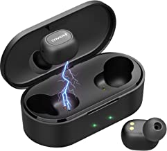 Bluetooth Headphones Wireless Earbuds Bluetooth Headset Wireless Earphones Bluetooth 5.0 6D Stereo Sound Sport Driving Headset with Portable Charging Case