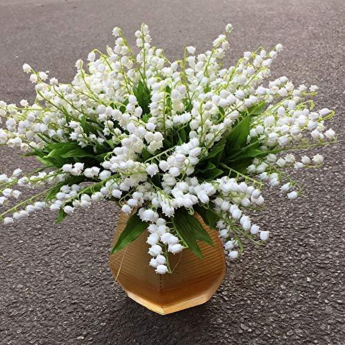 200 pièces de Bell Orchid Seeds Rare Muguet Fleurs d'intérieur Fleurs arôme riche Bonsai graines vivaces Plantes Fleurs Jardin 13