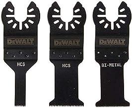 DEWALT Conjunto de lâminas de ferramentas oscilantes, 3 peças (DWA4215)