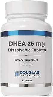 Douglas Laboratories - DHEA 25 mg - Dissolvable to Support Immunity, Brain, Bones, Metabolism and Lean Body Mass* - 60 Tablets