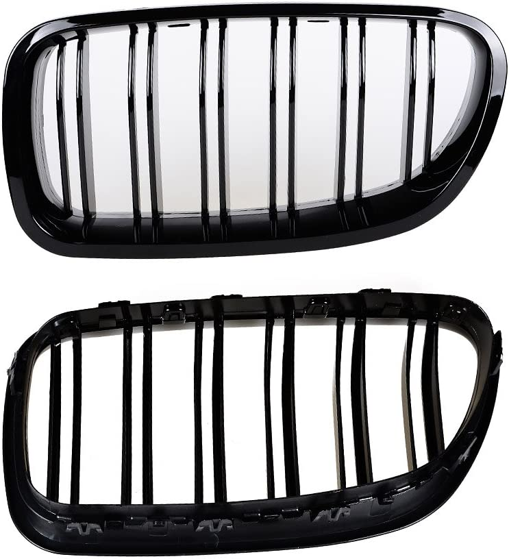 Grilles & Grille Guards Glossy Black Chrome Front Diamond Star ...