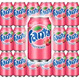 Fanta Fruit Punch Soda, Caffeine Free 12 Fl Oz Can (Pack of 18, Total of 216 Fl Oz)