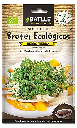 Semillas Ecológicas Brotes - Brotes ecológicos de Berro Tierra - Batlle