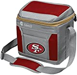 Coleman NFL Soft-Sided Insulated Cooler and Lunch Box Bag, 9-Can Capacity, San Francisco 49ers
