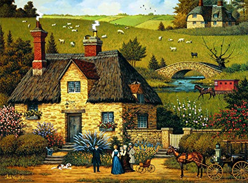 Buffalo Games - Charles Wysocki - Tall Sea Tale - 1000 Piece Jigsaw Puzzle