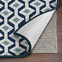 Ninja Brand Gripper Rug Pad, Size 6 Feet Square for Hardwood Floors and Hard Surfaces, Top Gripper Adds Cushion and Maximum Protection, Works with All Types of Rugs, Pads Available in Many Sizes