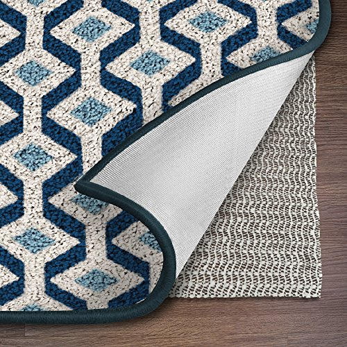 Ninja Brand Gripper Rug Pad, Size 9 Feet x 12 Feet, for Hardwood Floors and Hard Surfaces, Top Gripper Adds Cushion and Maximum Protection, Works with All Types of Rugs, Pads Available in Many Sizes