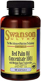 Swanson Red Palm Oil Concentrate 100:1 60 Sgels