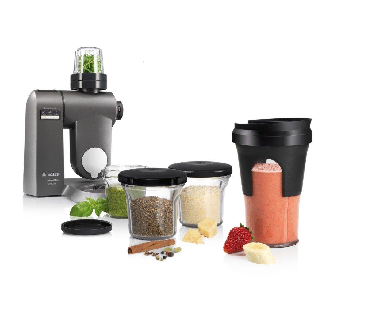 Bosch MUZ45XTM1 - Accesorios para procesadores de alimentos y robots de cocina, color negro y transparente: Amazon.es: Hogar