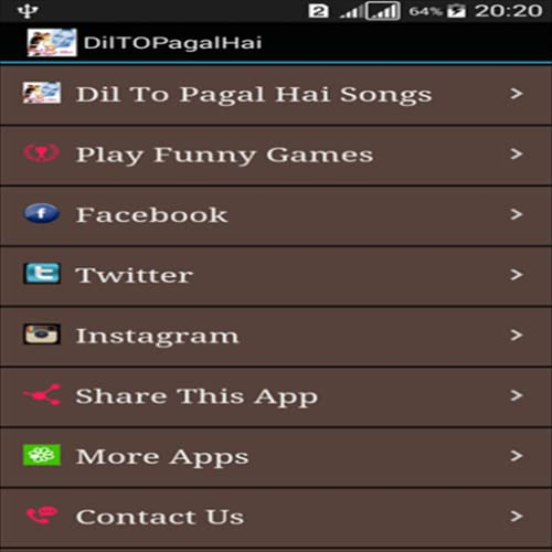 Dil To Pagal Hai Songs