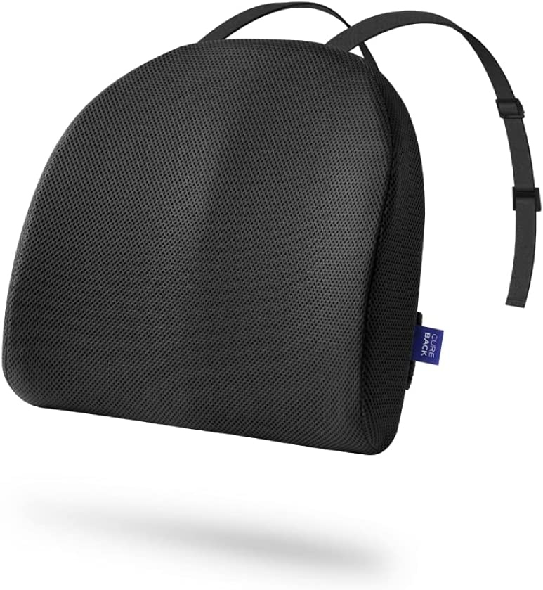 URIHARU Lumbar Max 66% OFF Support Cushion Special sale item for Office E - Chair Density high