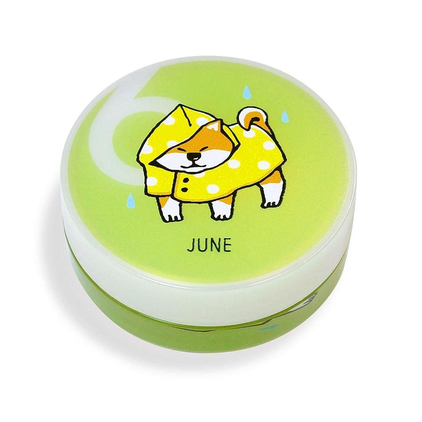 雑草累計おめでとうしばんばん フルプルクリーム 誕生月シリーズ 6月 20g