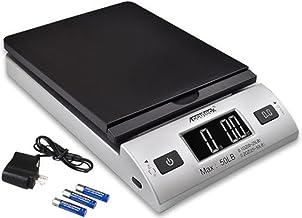 ACCUTECK همه در یک سری W-8250-50bs A-Pt 50 دیجیتال با آداپتور Ac ، نقره