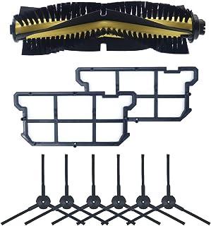 XIAOFANG 8PCS Piano Lavaggio Robotic Cleaner Spazzola Principale /& Scraper Fit di Ricambio for Ilife W400 Piano Robot di Lavaggio di Ricambio Accessori