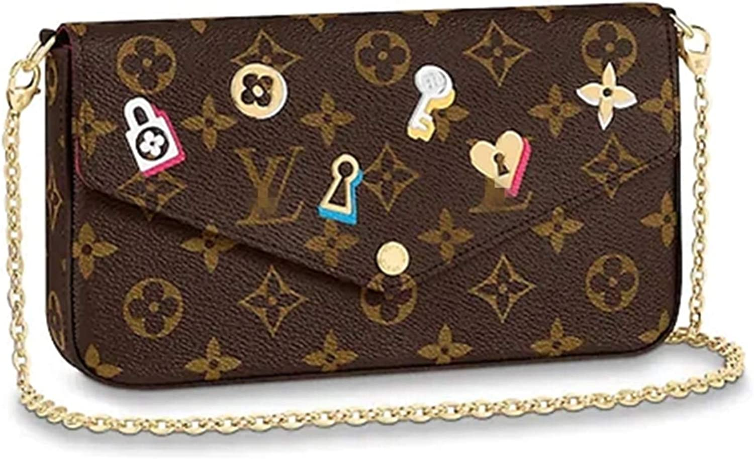 Bags Forest Womens Monogram Canvas Purse Jeanne Wallet Coin Purse