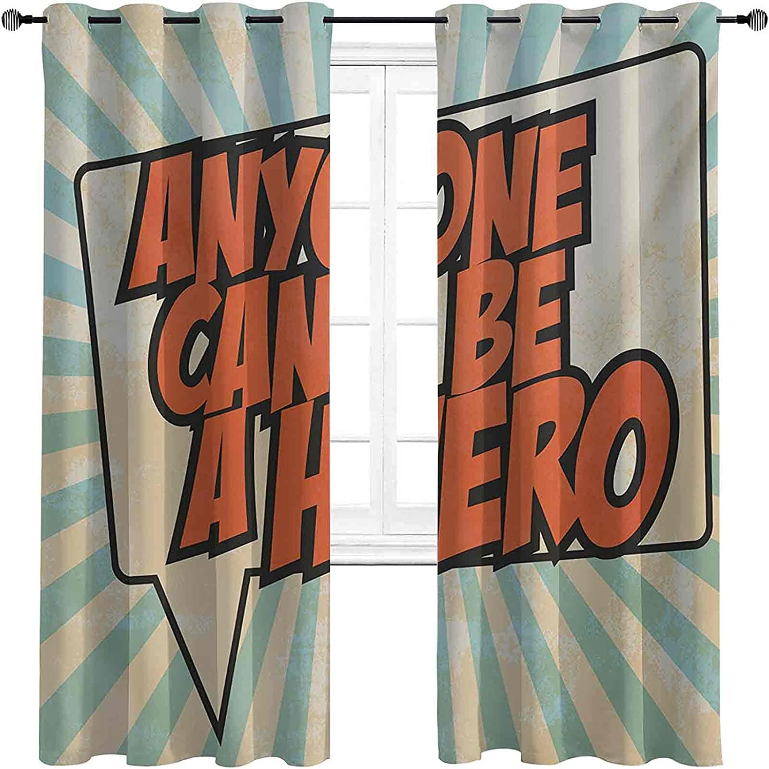 Blackout Quote Curtain Pop Art Japan's largest assortment Messaging Style An Speech Year-end gift Bubble