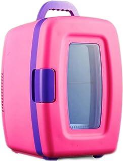 JTJxop Mini Frigo pour Chambre, Réfrigérateur Portable 10L et Refroidisseur et Réchaud Électrique, Réfrigérateur De Voitur...