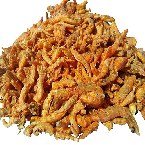Krill, Freeze Dried Floating Arctic Krill, Ideal for Oscars, Arowana, Large Cichlids, Marine Fish, Koi & Pond Fish, Turtles, Reptiles. Krill Contains Natural Color Enhancing Astaxanthin. 1/4-lb