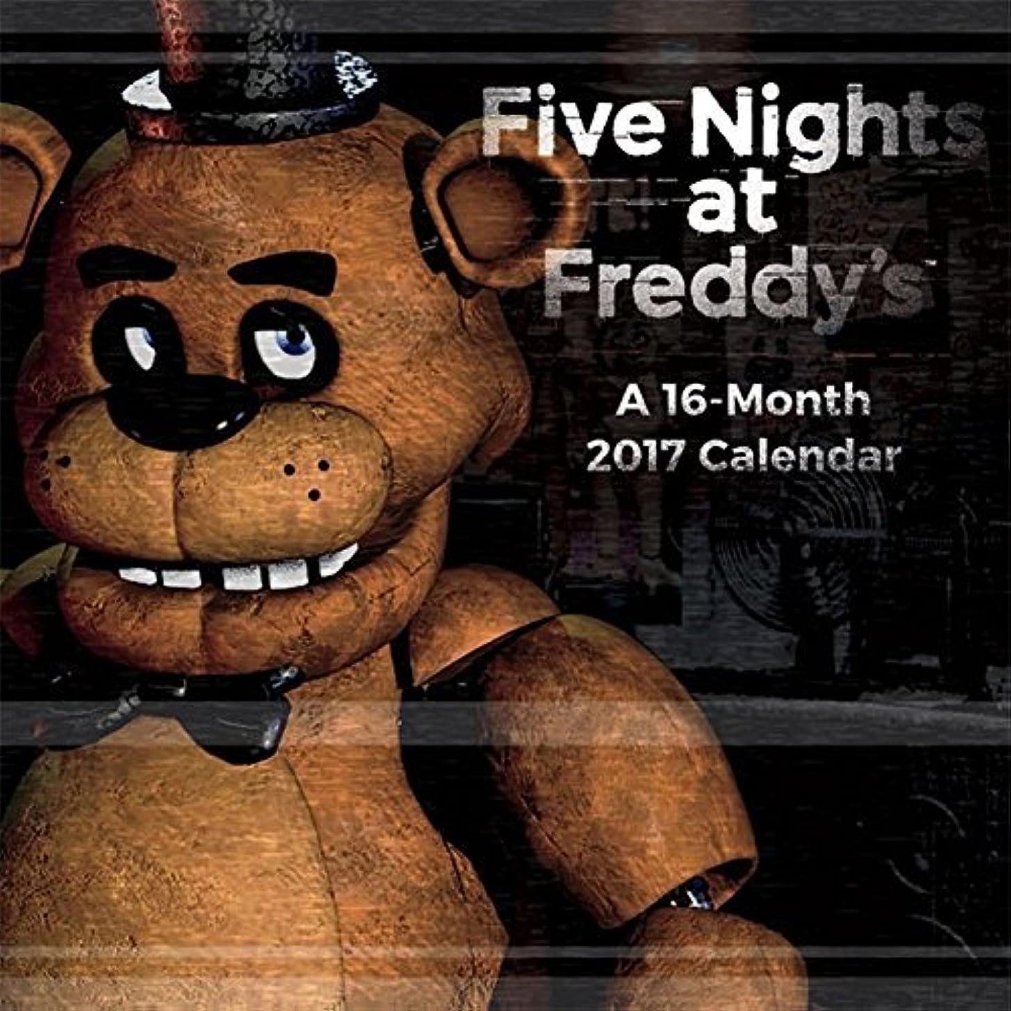 防止機知に富んだ宣言Five Nights At Freddy's - 2017 Calendar 12 x 12in [並行輸入品]