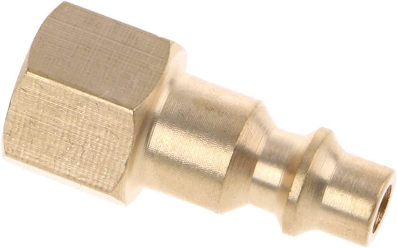 NEW before selling ☆ Ranking TOP20 Zkenyao-Brass Connector Solid Brass 1 NPT Quick Air 4