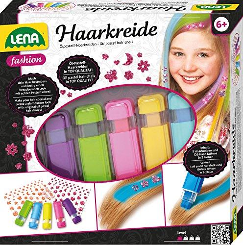 Lena 42536 Stylingset, Lila, Grün, Rosa, Gelb, Blau