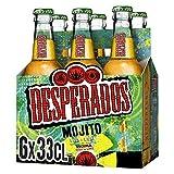 Desperados mojito cerveza - pack de 6 botellas x 330 ml (total: 1. 98 l)