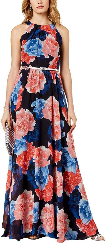 Inc Womens Floral Print Sleeveless Maxi Dress