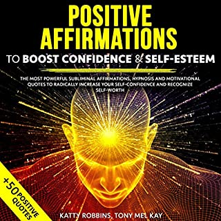 Positive Affirmations to Boost Confidence & Self-Esteem Titelbild