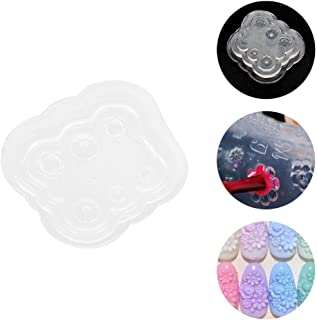 3D Silicone Nail Art Mold, Nail Art Templates Stamper for Acrylic Nail Carved, Maincure, DIY Craft and Cell Phone Case