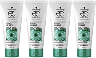 4x Schwarzkopf Extra Care Normal Balance Leave In Treatment 100mL