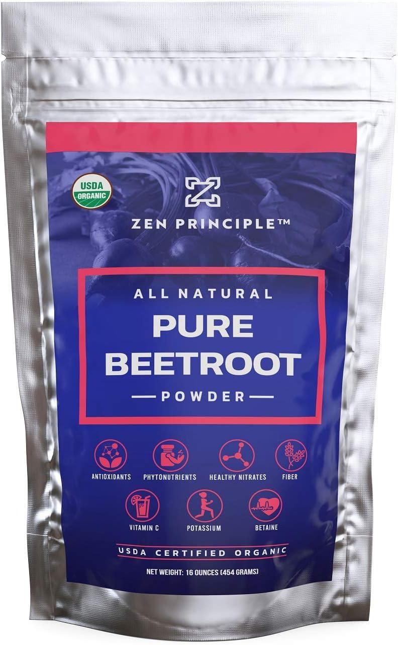 1 lb. Premium Organic Beetroot Certified. Sale price USDA Manufacturer OFFicial shop More 100% Powder.