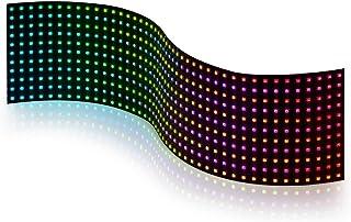BTF-LIGHTING WS2812B 11x44 Matrix Panel insgesamt 484 Pixel Digital flexibel einzeln adressierbar Volle Traumfarbe Beleuch...