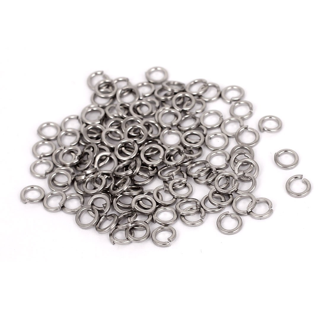 shop uxcell M3 304 Stainless Steel Split Ga Lock Now on sale Screw Spring Washers