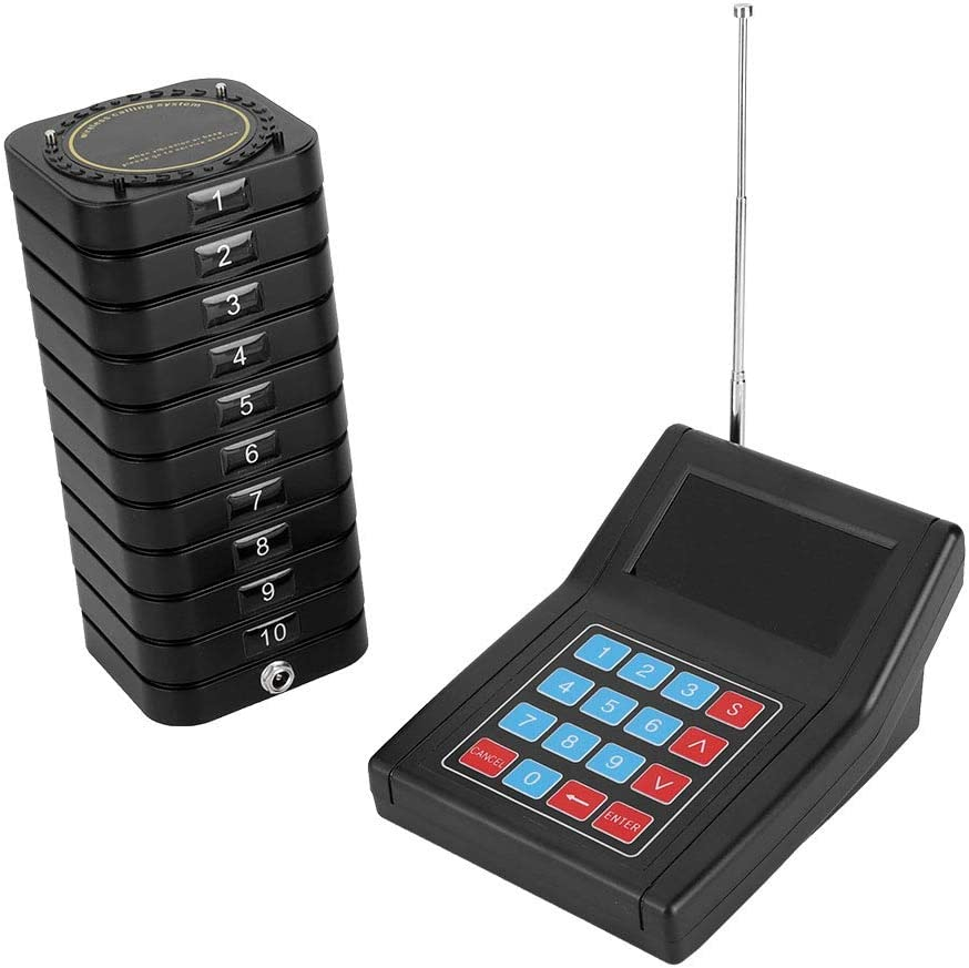 Limouyin Restaurant Pager half System Wireless Durab Indianapolis Mall Calling