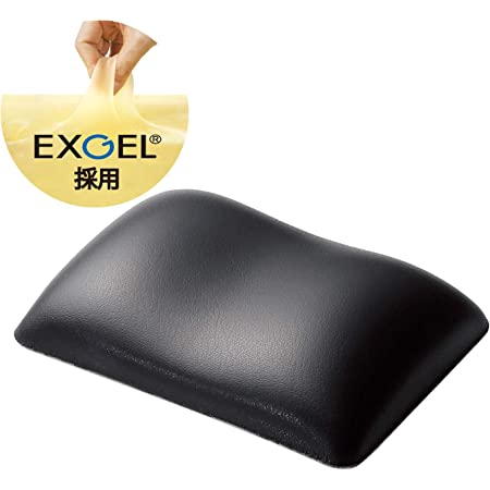 エレコム リストレスト 疲労低減 ショート 日本製 FITTIO ブラック MOH-FTRBK
